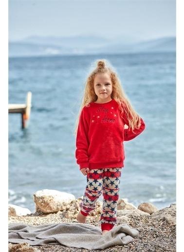 Nautica Ntg007 Pijama Takım Kırmızı